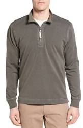True Grit Men's Half Zip Pullover Platoon