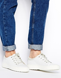 Whistles Daria White Leather Trainers