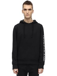 Calvin Klein Jeans Regular Institutional 10 Cotton Hoodie Black