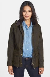 Barbour 'Convoy' Utility Coat Olive