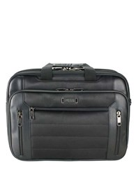 Kenneth Cole Reaction Keystone An Easy Decision Laptop Briefcase Black