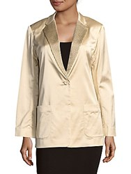 Marc By Marc Jacobs Washed Satin Jacket Black