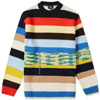 Calvin Klein 205W39nyc Irregular Stripe Knit Multi
