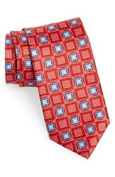 Men's J.Z. Richards Geometric Floral Silk Tie