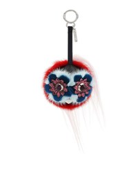 Fendi Monster Fur Charm For Handbag Multi