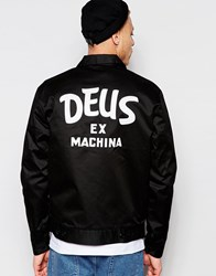 Deus Ex Machina Deus Ex Machine Workwear Jacket Black