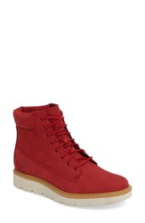 Timberland Women's 'Kenniston' Lace Up Boot Ruby Nubuck Leather