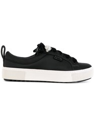 Karl Lagerfeld Lace Up Sneakers Black