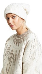 Veronica Beard Forde Cable Hat Ivory