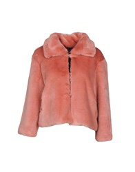 Biancoghiaccio Coats And Jackets Faux Furs