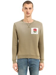 Kent And Curwen Kc Iconic Cotton Sweatshirt Army Green