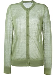 Givenchy Lightweight Cardigan Green