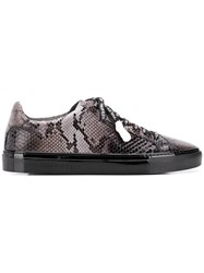 Philipp Plein Statement Low Top Sneakers Black