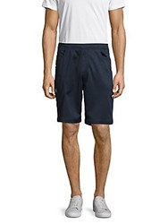 Hawke And Co Pull On Knit Shorts Nautical Heather