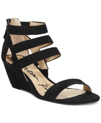 American Rag Casen Demi Wedge Sandals Women's Shoes Black