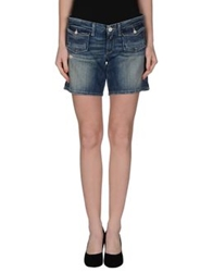 Replay Denim Bermudas Blue