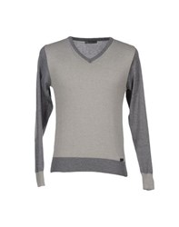 Roberto Pepe Knitwear Jumpers Men Grey