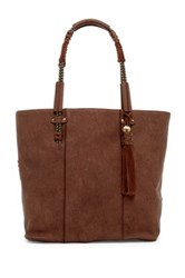 Steve Madden Emerson Faux Leather Tote Brown