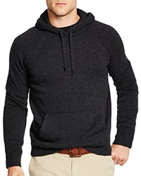 Polo Ralph Lauren Hooded Cashmere Sweater Onyx Heather