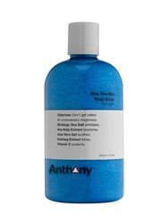 Anthony Logistics For Men Blue Sea Kelp Body Scrub Transparent