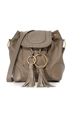 See By Chloe Polly Small Bucket Bag Taupe