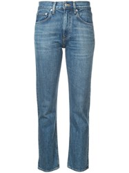 Brock Collection High Waisted Jeans Blue