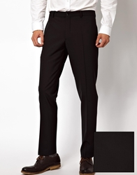 Selected Suit Pants Black