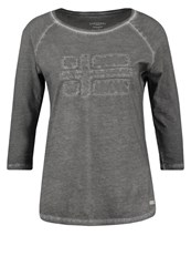Napapijri Saracena Long Sleeved Top Gull Grey Dark Grey
