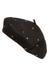 Sole Society Women's Studded Beret