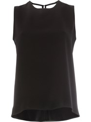 Maison Rabih Kayrouz Open Back Tank Women Polyurethane Triacetate 40 Black