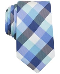 Nautica Men's Pacific Plaid Classic Tie Mint