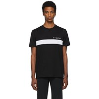 Givenchy Black Cut Out T Shirt
