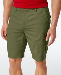 Club Room Men's Casual Cargo Shorts Only At Macy's Martini Olive