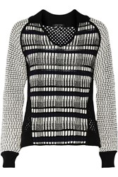 Ohne Titel Textured And Open Knit Sweater