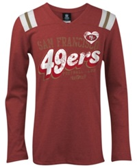 5Th And Ocean Girls' San Francisco 49Ers Tri Blend T Shirt