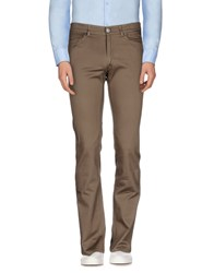 Trussardi Jeans Trousers Casual Trousers Men Khaki