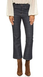 Free People High Rise '60S Flare Jeans Stormy