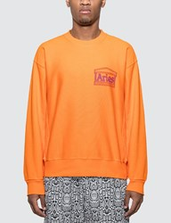Aries Classic Temple Sweatshirt Orange