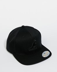Kangol Champ Links Snapback Cap Black