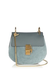 Chloe Drew Small Leather And Suede Cross Body Bag