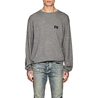 Rta Embroidered Cashmere Sweater Gray