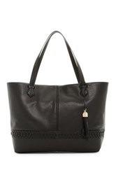 Cole Haan Lacey Leather Tote Black