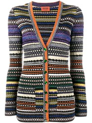 Missoni Lurex Stripe Cardigan Multicolour