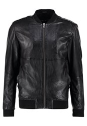 Freaky Nation Clubber Leather Jacket Black
