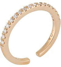 Noa Fine Jewellery 18Ct Rose Gold And Diamond Midi Ring