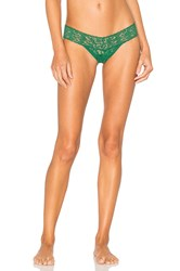 Hanky Panky Low Rise Thong Green