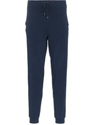 Lot 78 Lot78 Navy Cashmere Blend Sweatpants Blue