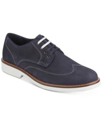 Dockers Men's Monticello Perforated Oxfords Men's Shoes Navy