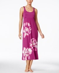 Alfani Floral Graphic Knit Nightgown Only At Macy's Brush Floral