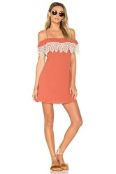 L Space Afterglow Dress Red